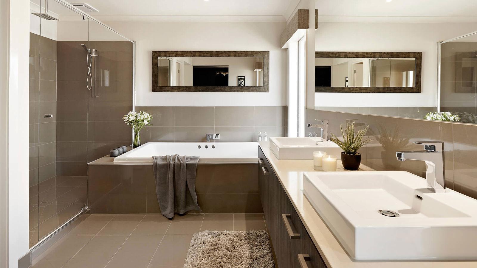 Dom na wsi w Melbourne: wnętrze w czerni i bieli