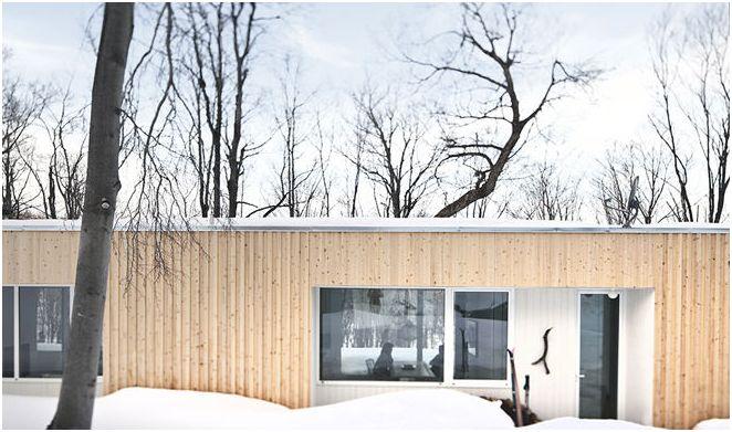 Селска къща в модерен стил