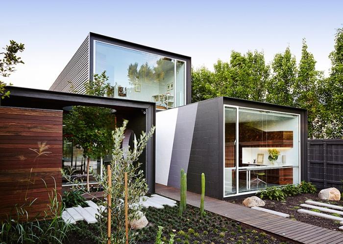 Projekt architektoniczny autorstwa Austin Maynard Architects.