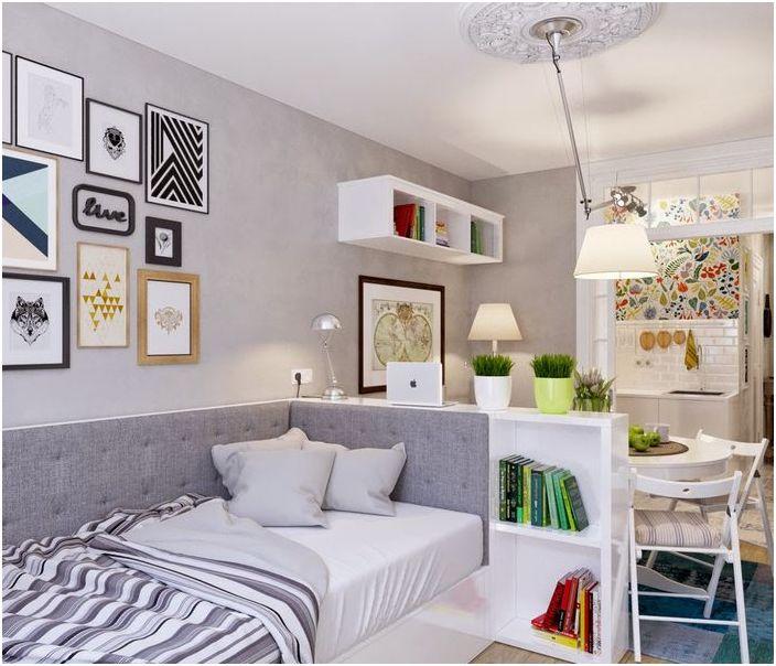 Właściwe oświetlenie w małym mieszkaniu