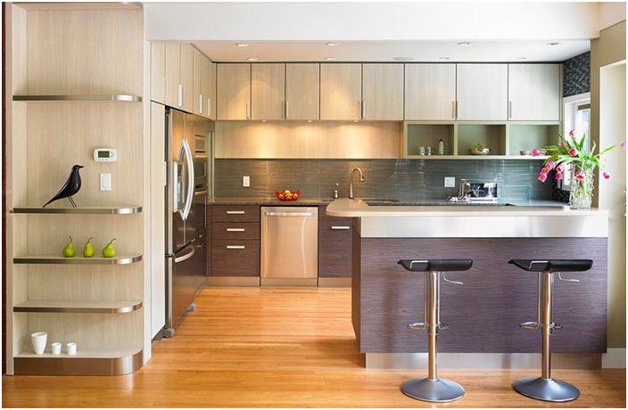 Кухненският интериор от The Sky е Limit Design