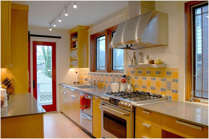 Кухненски интериор от Adrienne DeRosa