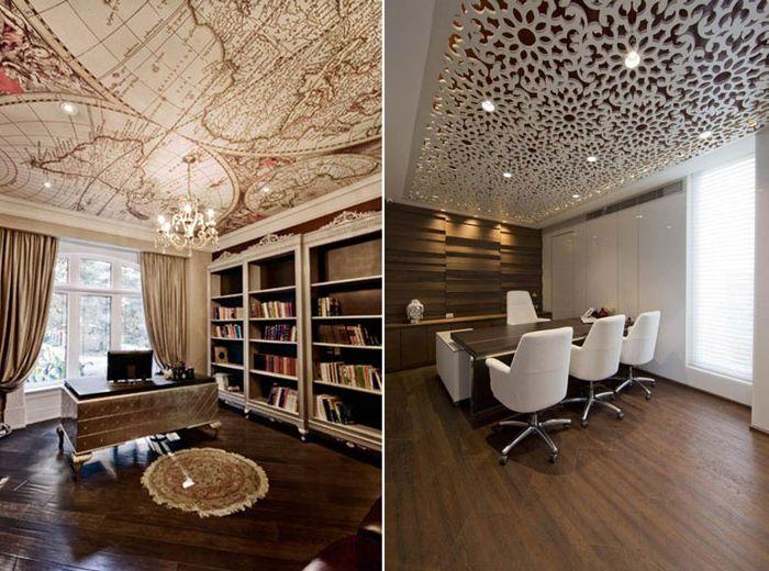 10 идеи за необичаен декор на тавана.