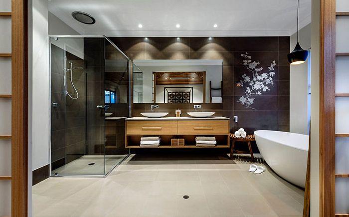 Wnętrze łazienki firmy Webb & amp; Brown-Neaves