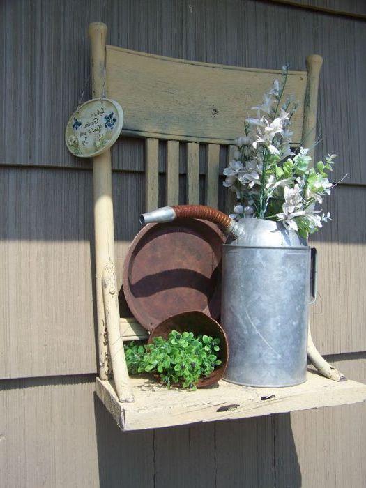 Разкошен домашен градински рафт няма да остане незабелязан.
