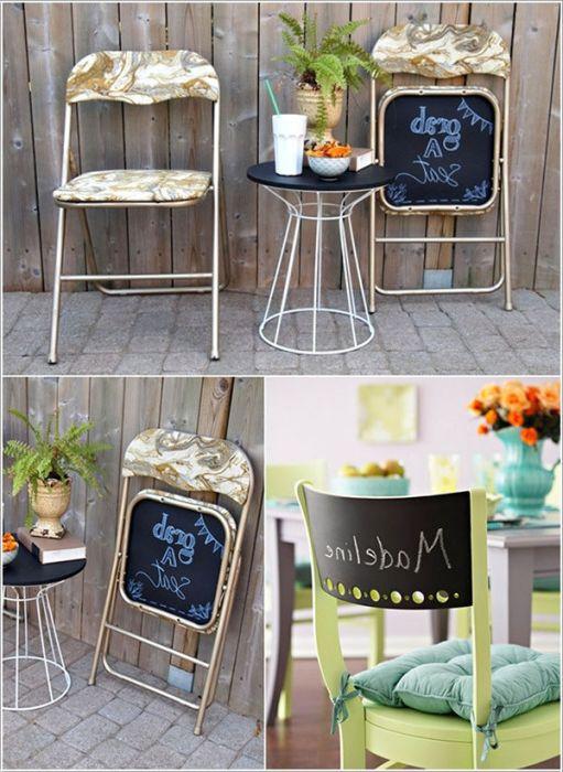 Този стол ще помогне да се настанят гостите.