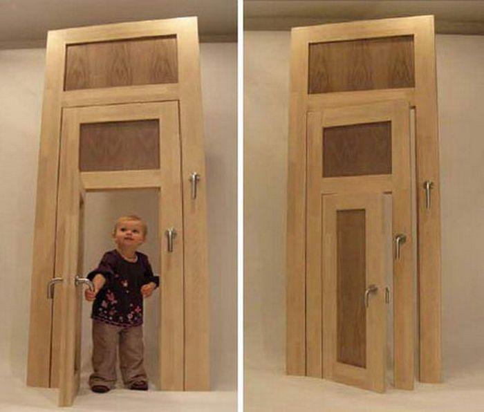 Drzwi wewnętrzne na dowolną wysokość.
