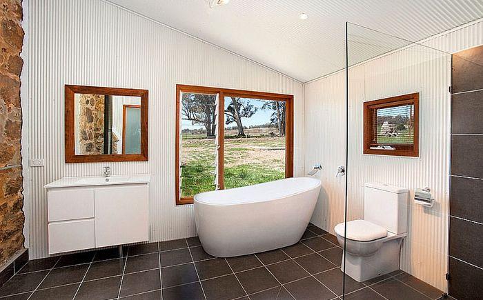 Интерьер ванны от Sandberg Schoffel Architects