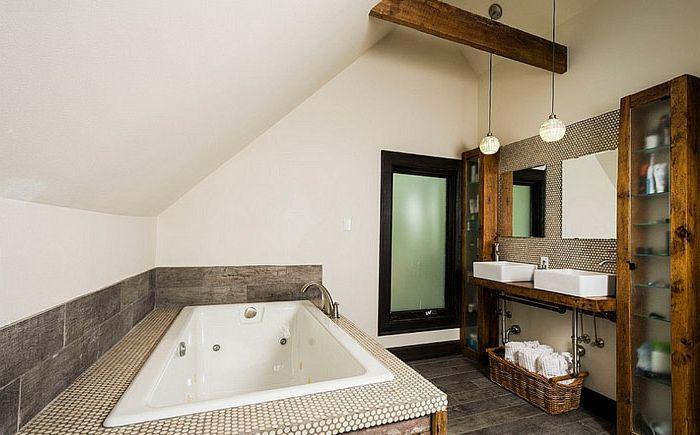 Łazienka autorstwa Ginkgo House Architecture