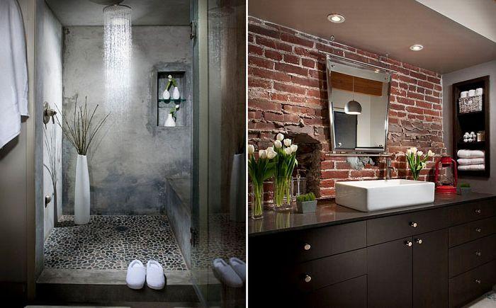 Prysznic betonowy
