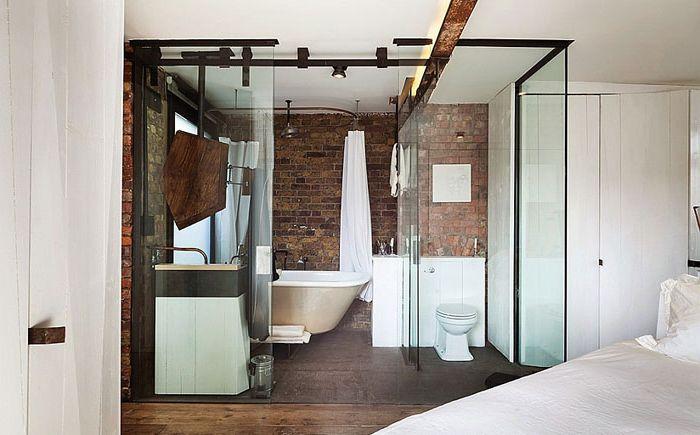Łazienka w mieszkaniu w Londynie