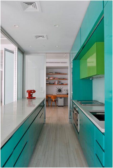 Кухненски интериор от BarlisWedlick Architects, Studio Tribeca