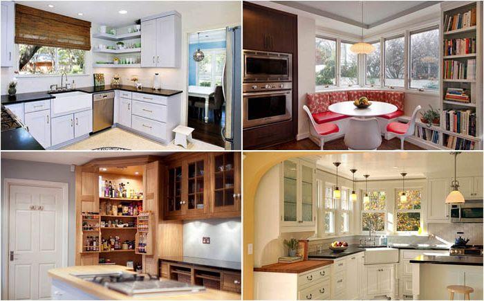 10 простых и эффективных способов заполнить углы на кухне