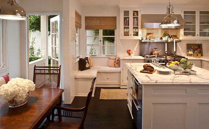 Уголок для отдыха на кухне