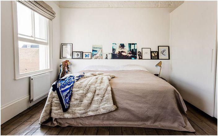 Wnętrze sypialni wykonane przez Jino Design Ltd.