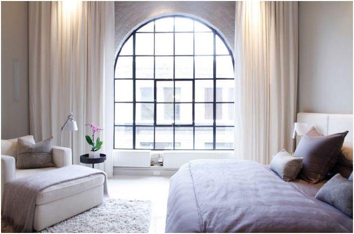 Wnętrze sypialni Esther Hershcovich