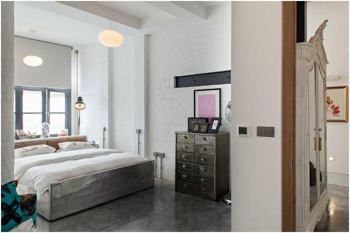 Wnętrze sypialni autorstwa Chris Dyson Architects