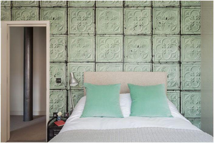 Wnętrze sypialni autorstwa Michelle Chaplin Interiors