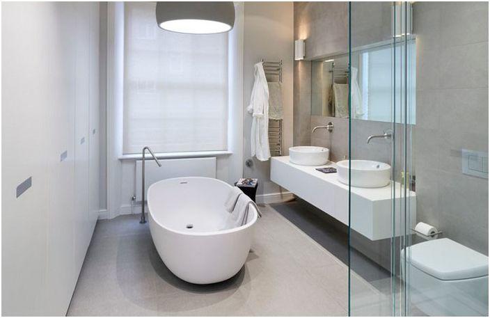 Интериор на баня в апартамент в Лондон
