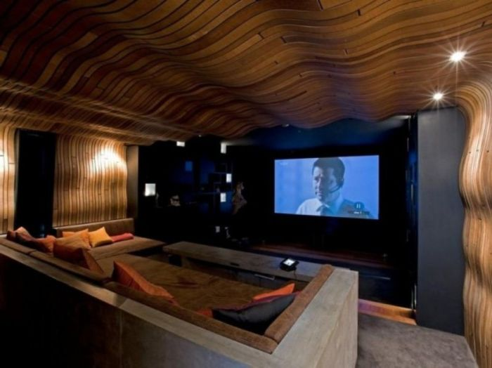 Стени, които правят атмосферата в стаята топла и уютна.