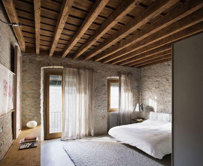 Невероятно уютна спалня в селски стил