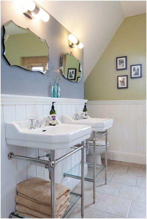 Интериор на банята от Крис Снук