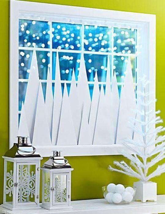 Коледни елхи от хартия.