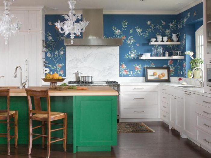 С подходящия тапет във вашата кухня можете да създадете много удобна и весела атмосфера.