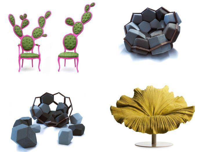 Столовете са истински произведения на изкуството