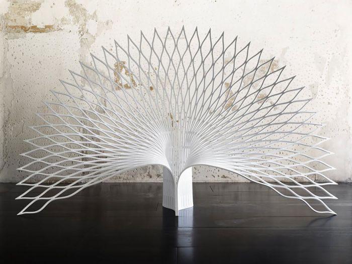 Луксозен стол за опашка на паун