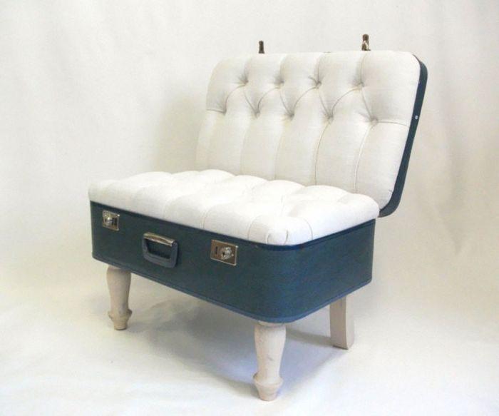 Отворено кресло за куфари