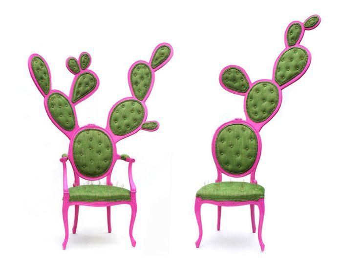 Столове под формата на кактус