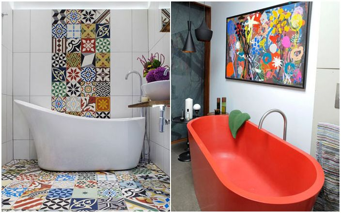 10 niesamowitych kombinacji kolorystycznych, które odświeży każdą łazienkę
