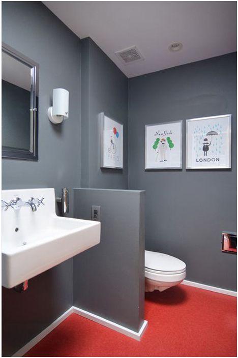 Wnętrze łazienki autorstwa Sarah Greenman