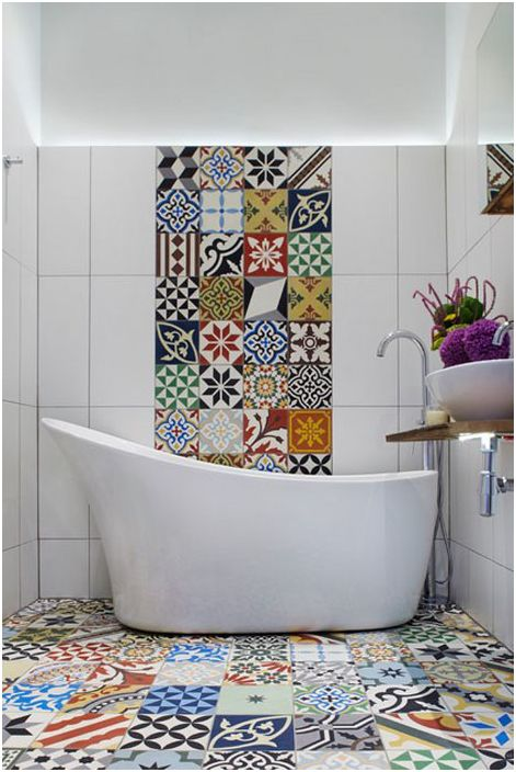 Wnętrze łazienki autorstwa Cassidy Hughes Interior Design & Styling