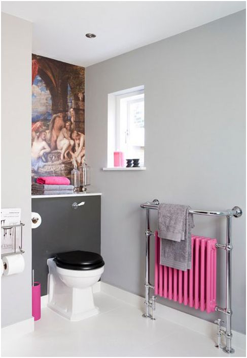 Wnętrze łazienki wykonane przez Armstronga Keywortha