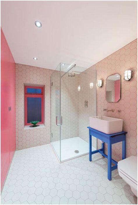 wnętrze łazienki autorstwa Alexander Owen Architecture