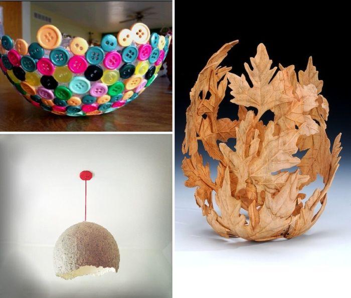 Pomysły na wykorzystanie kształtu balonu do stworzenia wspaniałych artykułów gospodarstwa domowego.