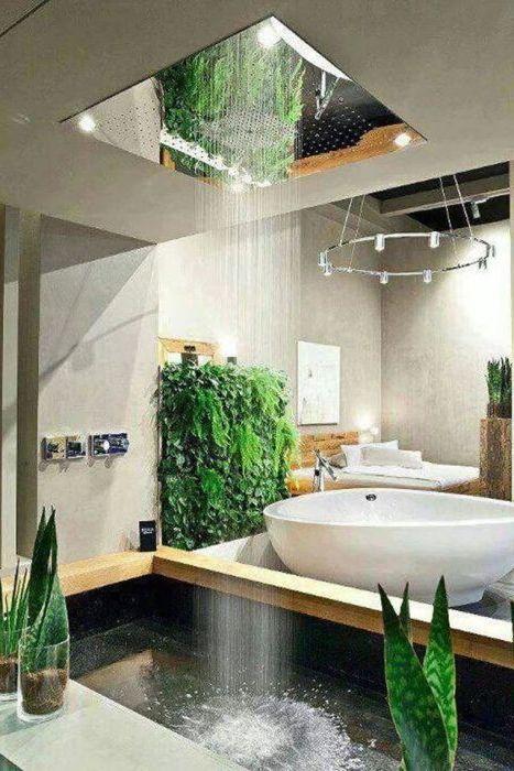 Малък басейн за създаване на истински тропически дизайн.