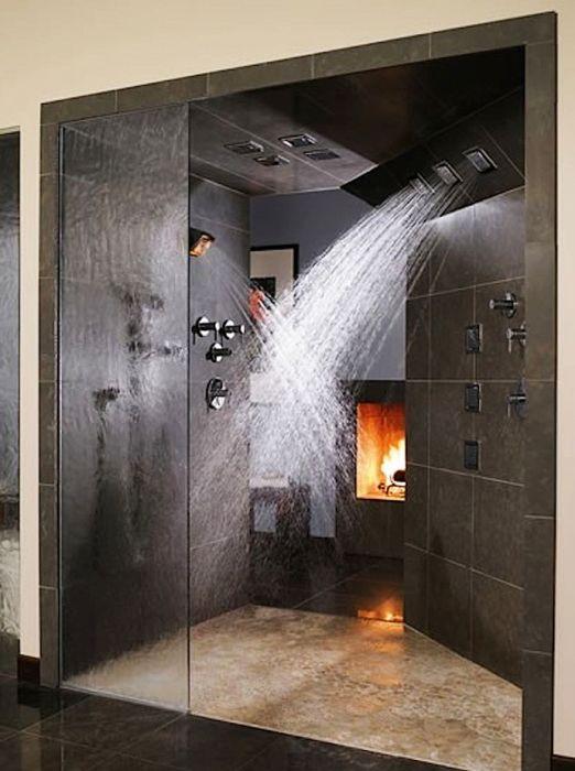 Уютна душ кабина.