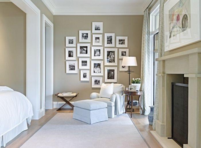 Aranżacja wnętrz jest odzwierciedleniem tego, kim jesteś. Udekoruj swój dom rodzinnymi zdjęciami lub innymi pamiątkami.