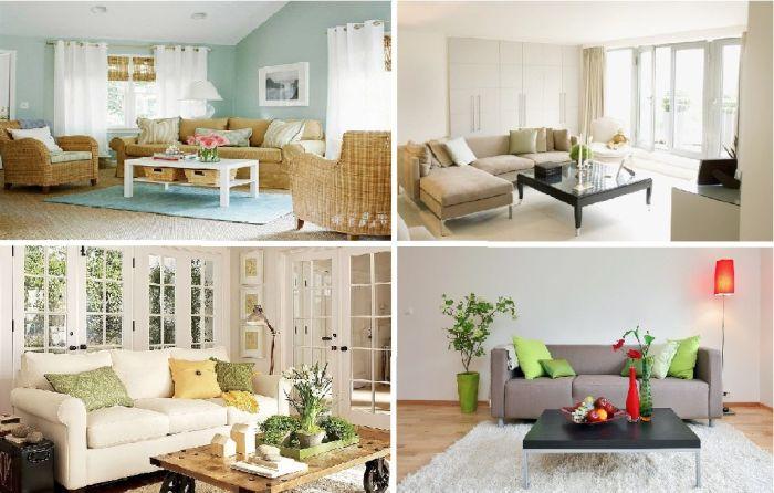 12 гениальных идей эффектного, но низкобюджетного дизайна гостиной.
