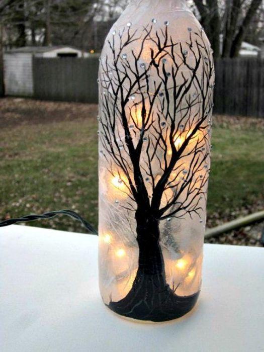 Романтичен готически фенер.