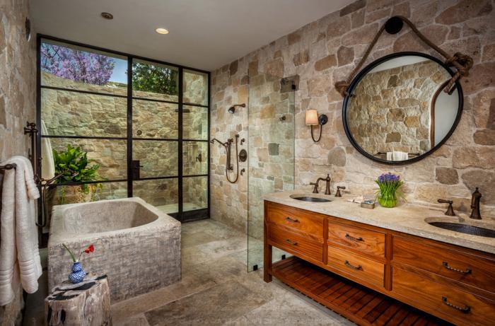 Страхотен дизайн на баня.