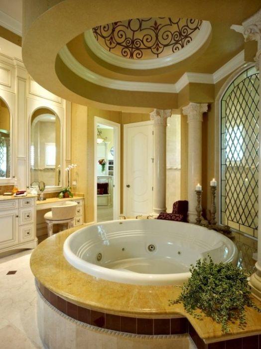 Луксозна кръгла вана.