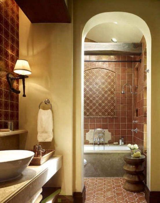 Релаксиращ интериор в банята.