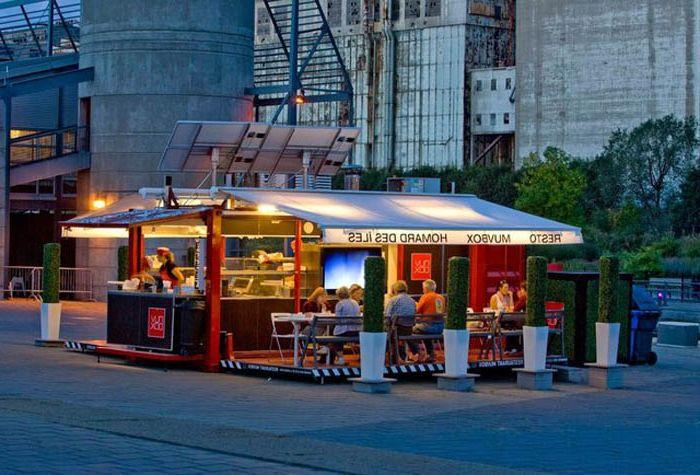 Kawiarnia w Montrealu.