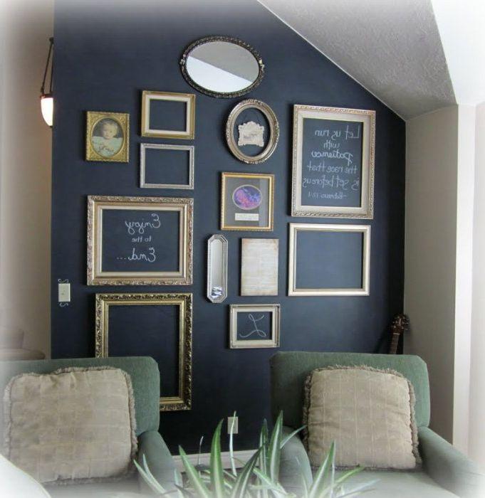 Świetny sposób na uzupełnienie łupkowej ściany.