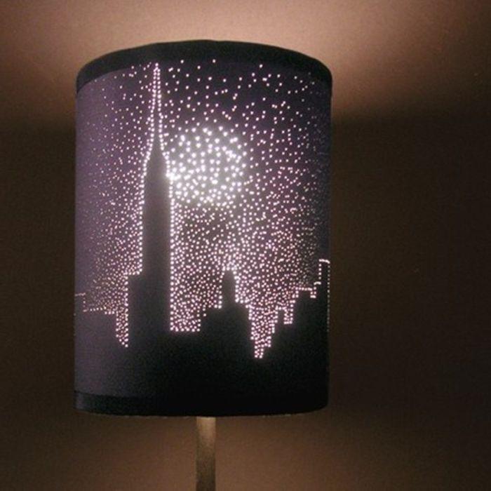 Моделът на лампата.