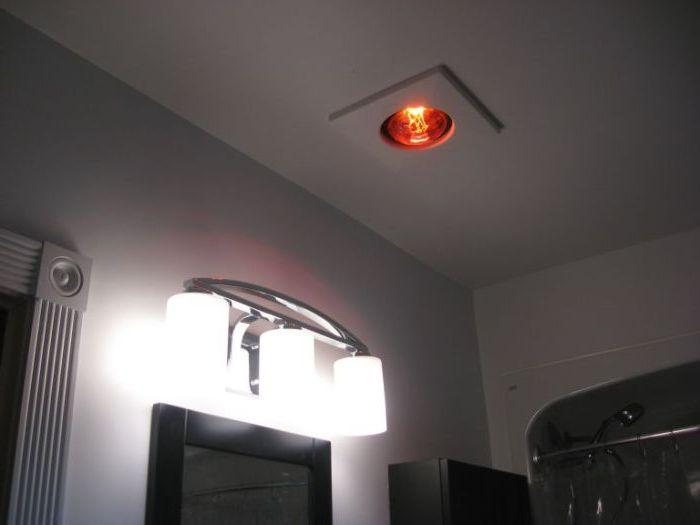 Голяма лампа на тавана.